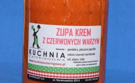 Krem pomidorowo – paprykowy
